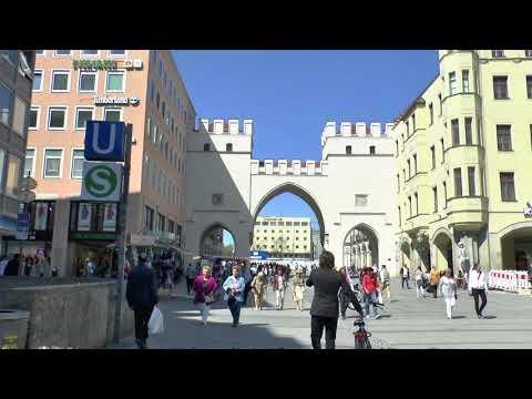 Walk around Munich Germany.