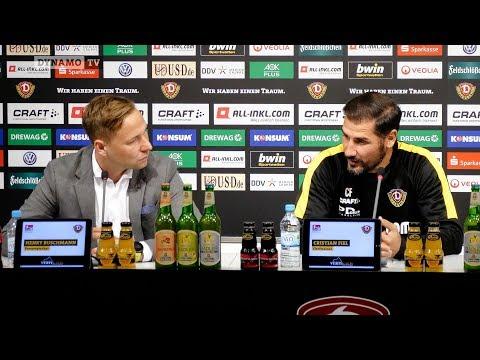 7. Spieltag | SGD - SSV | Pressekonferenz vor dem Spiel