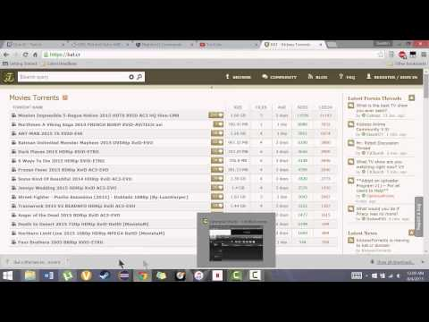 How to:  Use Torrents and get movies and music for free!