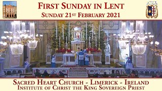 Sunday 21st February 2021: First Sunday in Lent