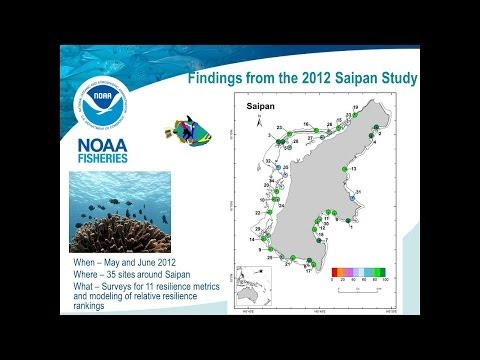 Reef Resilience Webinar: Assessing Coral Reef Resilience In Saipan, CNMI