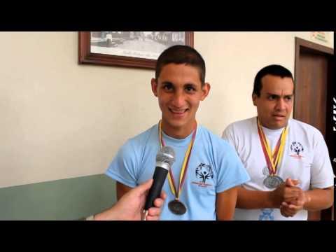 Campeones de Olimpiadas Especiales visitaron Alcaldía de Chone