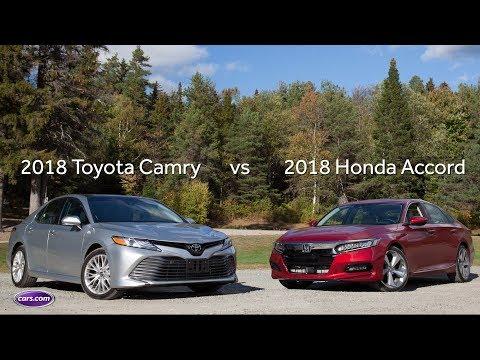 2018 Honda Accord Vs 2018 Toyota Camry: Quick Drive Comparison