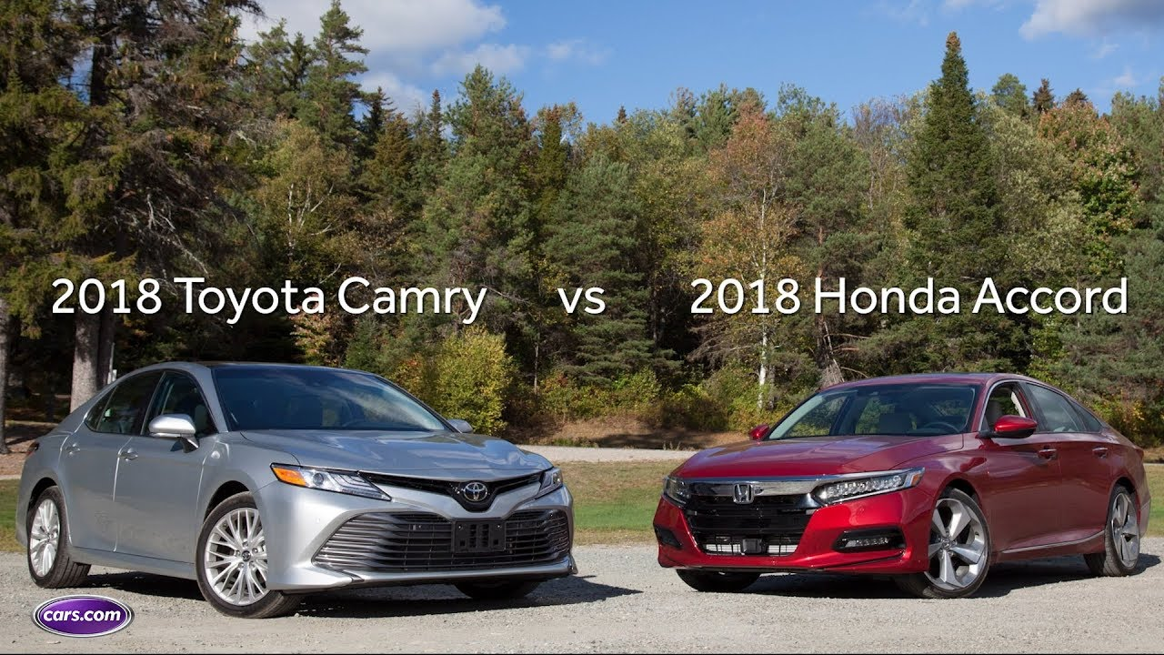 Toyota Camry Vs Honda Accord >> 2018 Honda Accord Vs 2018 Toyota Camry Quick Drive Comparison
