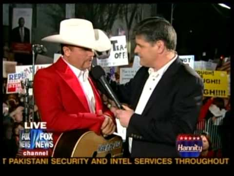 John Rich Singing 'Shutting Detroit Down' At Tea Party