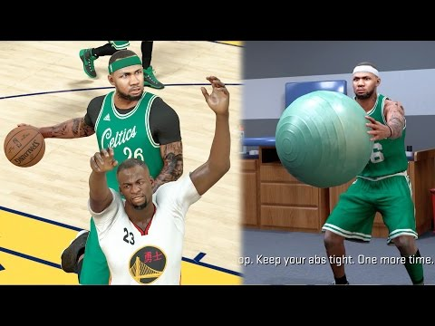 NBA 2k17 MyCAREER - LeBron James Injured Me! Nasty Ankle Breaker vs Golden State! Ep. 73