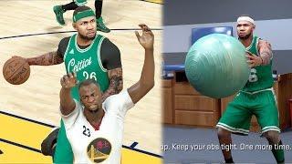 NBA 2k17 MyCAREER - LeBron James Injured Me! Nasty Ankle Breaker vs Golden State! Ep. 73