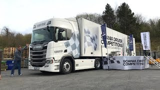 2019 SCANIA Driver Competition (Skills Test) Ireland Final