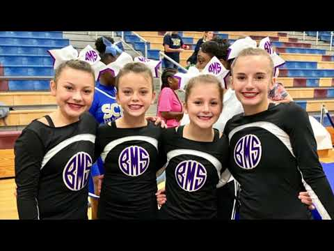 Bainbridge Middle School 2019-2020 Cheer Banquet