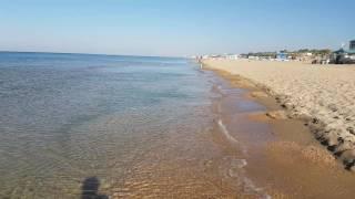 Видео отчёт моря в Витязево 13.09.2016 9.00