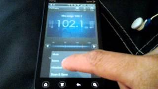 HTC EVO V 4G - Radio FM Tuner