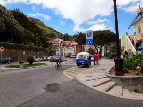 Streets of  Sintra Portugal. ポルトガルのシントラ町並み。5葡萄牙