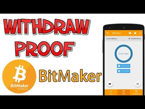 BitMaker Live Payment Proof   Android Application  