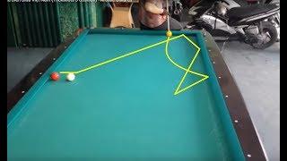 Biểu Diển Bida Việt Nam (Trickshots 3 Cushion) - Artistic Billiards
