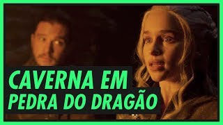 CAVERNA DO DRAGÃO e seus símbolos | GAME OF THRONES