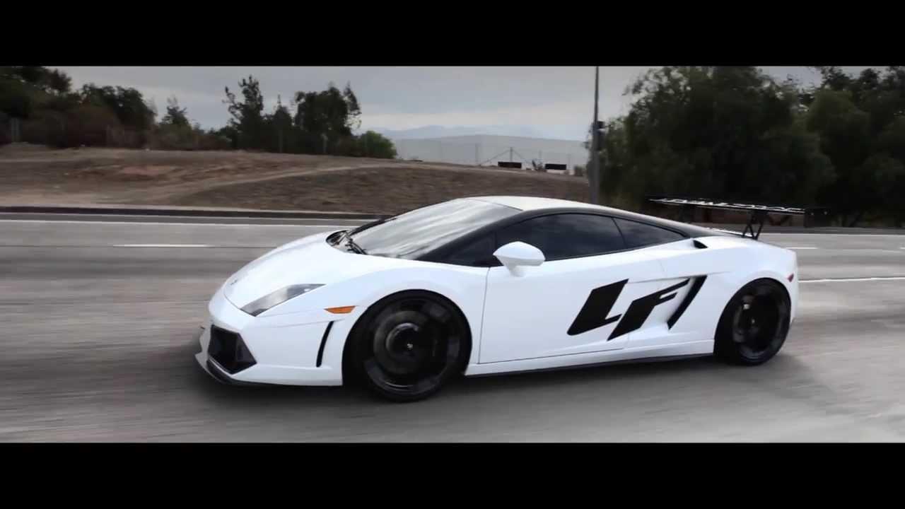 Custom Lamborghini Gallardo On Lf Wheels Youtube