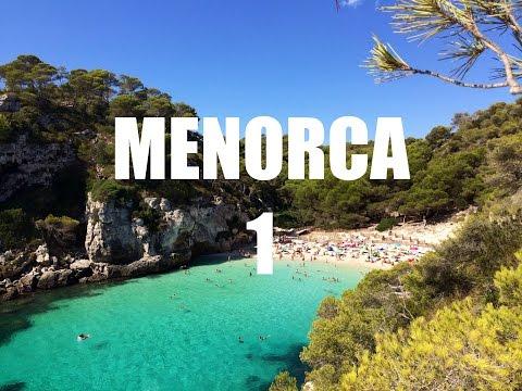 Guia de Viaje Menorca 01 (Baleares) - Las calas mas bonitas y los sitios mas importantes