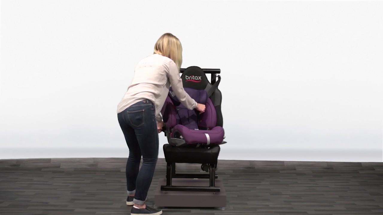Evolva 1-2-3 sl sict – installing the seat | group 1 youtube.