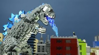 LEGO Godzilla-animation