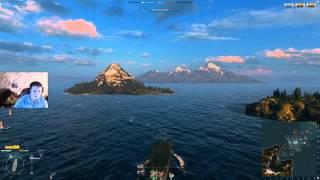world of warships обучение с GrimOptimist (часть 3)