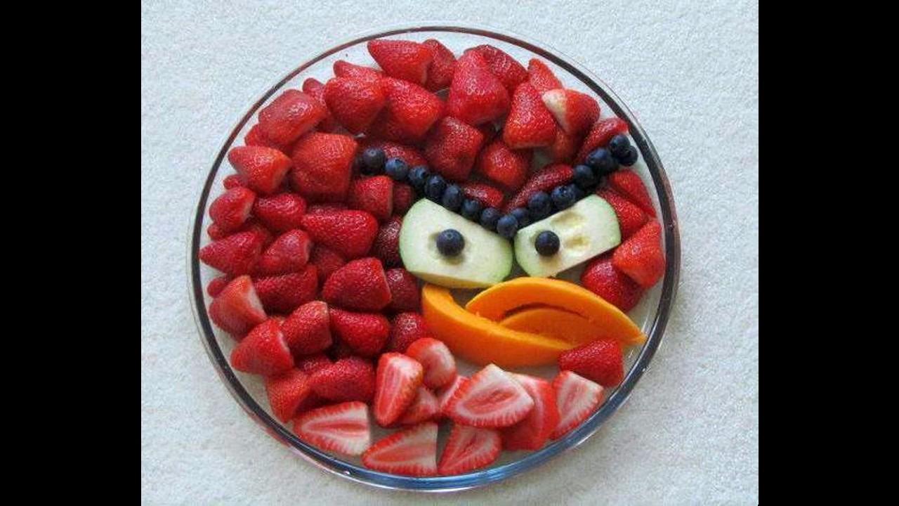 Easy Fruit Salad Decoration For Kids Youtube