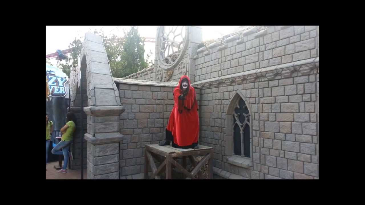 House of Fear - Allou Fun Park - YouTube