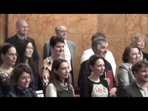 Branka KAVAŠ-27032017 - Svečana podelitev znanstvenih nazivov Univerze v Ljubljani