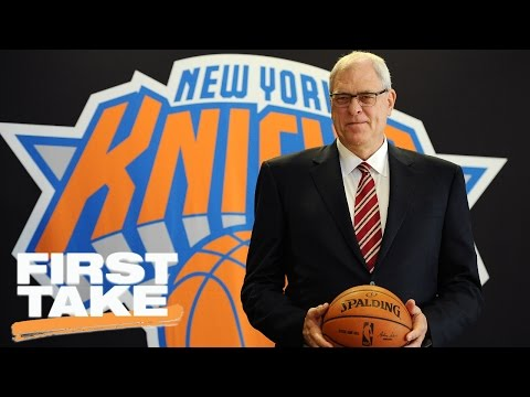 Scottie Pippen Blames Phil Jackson For Knicks' Failures... Agree? | First Take | March 31, 2017
