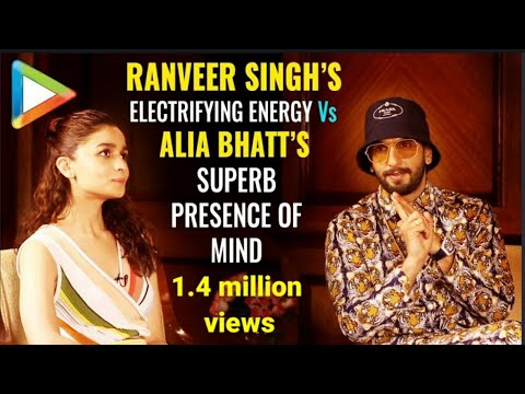 Ranveer Singh & Alia Bhatt's WITTIEST QUIZ EVER – Romantically Yours | Gully Boy