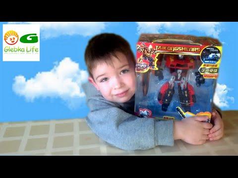 Robot Transformer machine. Красный Трансформер, Машинки трансформеры.