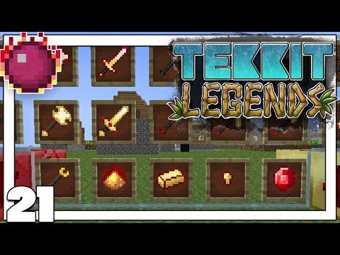 MOD COMPLETADO REDSTONE ARSENAL   Minecraft   TEKKIT LEGENDS #21