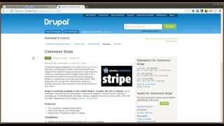 Drupal 7 Commerce Stripe Module - Daily Dose of Drupal episode 149