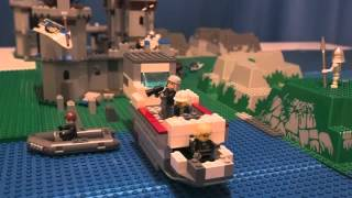 Loch Ness Monster Stop Motion Lego Movie