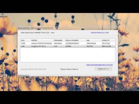 Como realizar un Formateo a Bajo Nivel (Reparar USB & HDD)