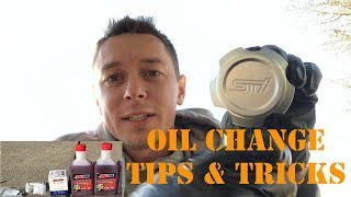 Oil Change Tips and Banjo Bolts