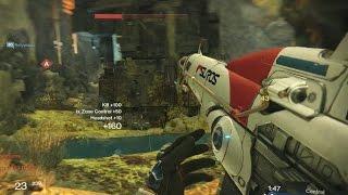 "EXOTIC 43 KILLS! - Destiny PvP Multiplayer Crucible Gameplay ""Suros Regime"" Gun"