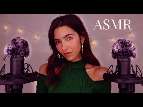 ASMR 50 Triggers for ∼2H of Tingles (Fluffy Ears, Mic Scratching, Plastic Cups, Pop Rocks +)