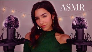 ASMR 50 Triggers for ∼2H of Tingles (Fluffy Ears, Mic Scra...