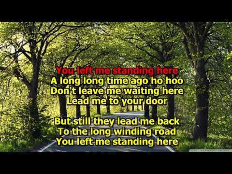 The Long and Winding Road - The Beatles (Karaoke) HD