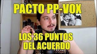 Acuerdo entre PP y VOX en Andalucía - Los 37 Puntos - Noticiero Giliprogre 18
