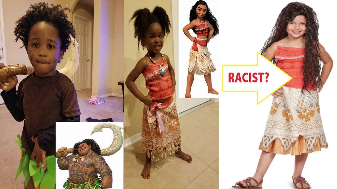 Is The Moana Halloween Costume Racist Reaction