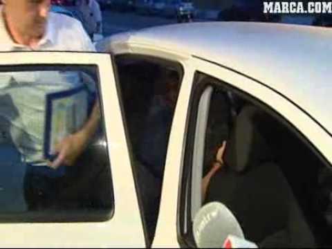 Carles Puyol Leaving La Selección 8/31/10
