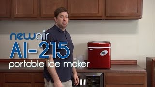 How to Make Ice with a NewAir AI-215 Ice Maker