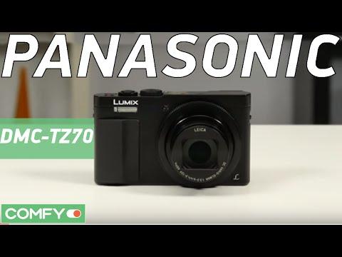 Panasonic LUMIX DMC-TZ70 - компактная фотокамера с 30-кратным зумом - Видеодемонстрация...