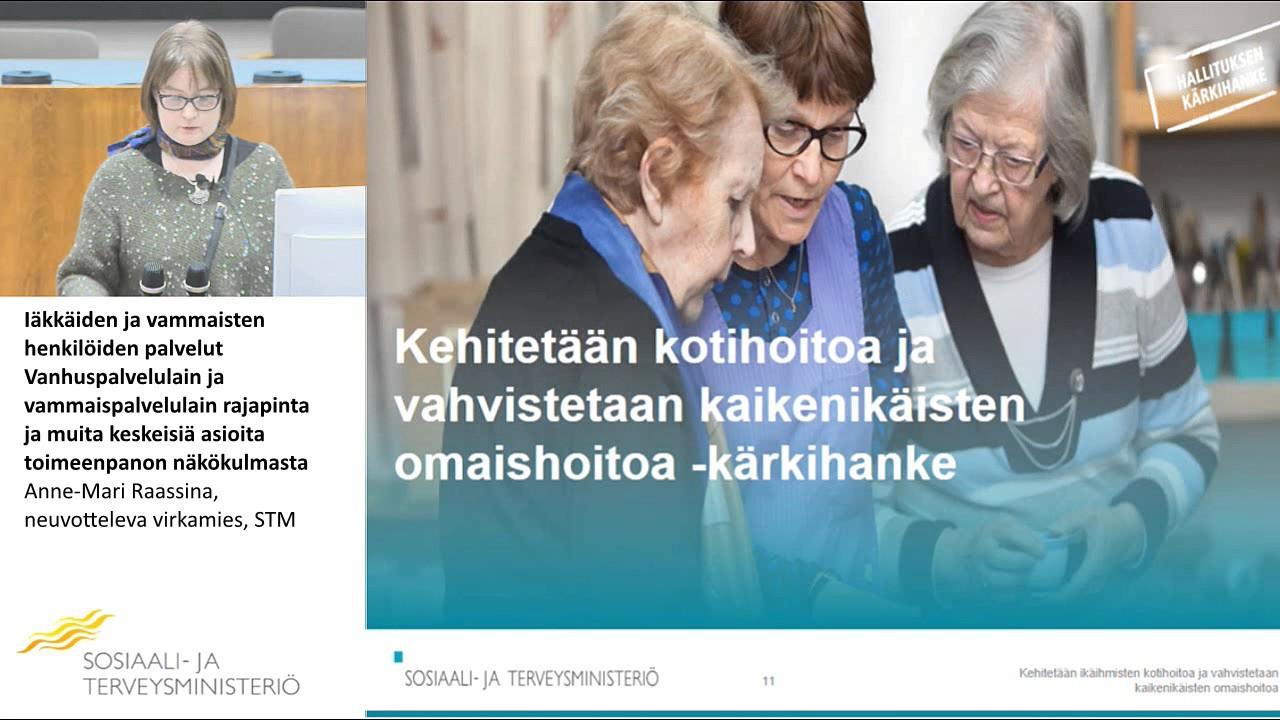 Download Iäkkäiden ja vammaisten henkilöiden palvelut