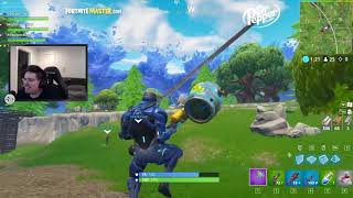 Fortnite Battle Royale FLYING SHOPPING CART!!! Ft CDNThe3rd HighDistortion and RequiemSlaps