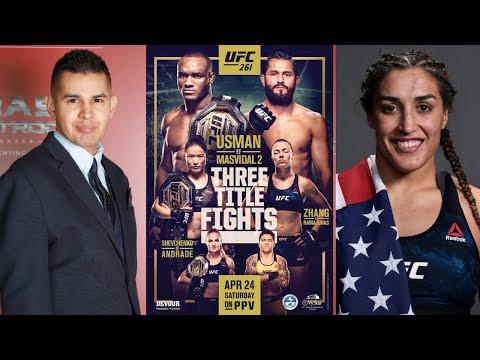 UFC 261 Gabriel Gonzalez Preview Show w/Tatiana Suarez, Possibly Moving Up to Flyweight in Return