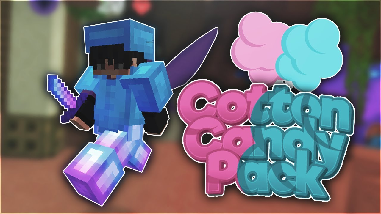 BEST Cotton Candy Minecraft PVP Texture Pack in Hypixel Bedwars (16x FPS BOOST) 1.8.9/1.15.2/1.16