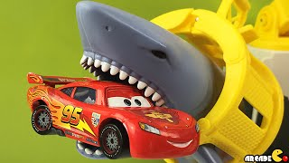 Rescue Shark Ship Mission Marine Matchbox With Disney Cars Lightning McQueen Paw Patrol Pup