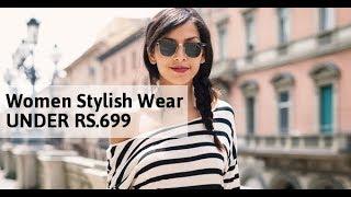 Women Stylish Wear UNDER RS.699 ON Amazon ( किफायती दाम में ख़रीदे )
